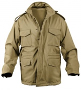 Rothco Soft Shell Tactical M-65 Jacket Coyote - 5244