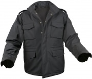 Rothco Soft Shell Tactical M-65 Jacket Black - 5247
