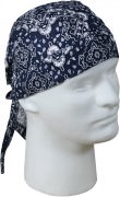 Бандана Trainmen Headwrap - Navy Blue & White