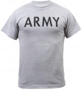 "Rothco Physical Training T-Shirt ""ARMY"" Grey"