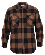 Rothco Buffalo Plaid Flannel Shirt Brown 4667