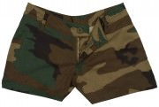 Rothco Women's Military Short Woodland Camo 3376