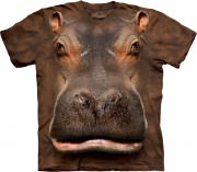 The Mountain T-Shirt Hippo Head 103384