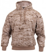 Rothco Pullover Hooded Sweatshirt Desert Digital Camo - 6525