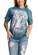 The Mountain T-Shirt Thoughtful White Tiger 105964