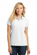 Port Authority Ladies Core Classic Pique Polo White