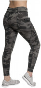 Rothco Womens Workout Performance Camo Leggings With Pockets Black Camo 4890