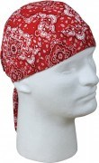 Бандана Trainmen Headwrap - Red & White