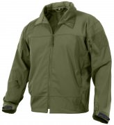 Rothco Covert Ops Light Weight Soft Shell Jacket Olive Drab - 5872