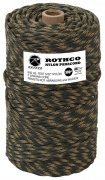 Nylon Paracord 550 Type III Commercial (300ft) Woodland Camo - 328