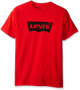 Levis Men Fashion Wing T-Shirt Red
