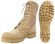 Rothco G.I. Type Jungle Boots/ Sierra Sole Desert Tan 5257