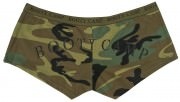 "Rothco Women's Booty Shorts Woodland Camo w/ ""Booty Camp"" - 3476"
