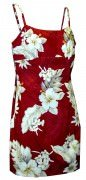 Pacific Legend Short Spaghetti Dress - 306-3162 Red