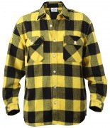Rothco Buffalo Plaid Flannel Shirt Yellow 4649