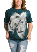 The Mountain T-Shirt White Lions Love 105937