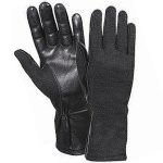 Rothco G.I. Type Flame & Heat Resistant Flight Gloves Black 3457