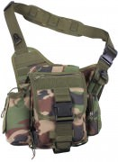 Сумка Rothco M.O.L.L.E. Compatible Advanced Tactical Shoulder/Hip Bag - Woodland Camo - 2738