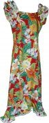 Pacific Legend Long Muumuu Dress - 334-3799 Red
