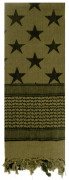 Rothco Stars and Stripes Shemagh Tactical Desert Scarf Olive Drab 8864