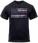Rothco Thin Blue Line & Thin Red Line T-shirt 61660