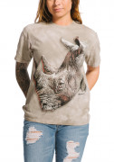 The Mountain T-Shirt White Rhino 105901