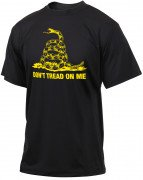Rothco Don't Tread On Me Vintage T-Shirt Black 61060