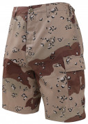 Rothco BDU Short 6-Color Desert Camo 7072
