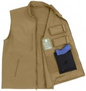 Rothco Concealed Carry Soft Shell Vest Coyote 86600