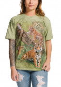 The Mountain T-Shirt Wild Tiger Collage 105888