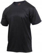 Rothco Quick Dry Moisture Wicking T-shirt Black 2735