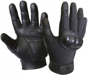 Rothco Flame and Heat Resistant Hard Knuckle Tactical Gloves Black - 3463
