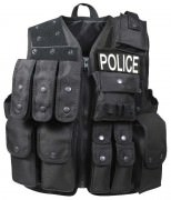 Rothco Tactical Raid Vest Black 6785