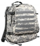 Rothco Deluxe ACU Digital MOLLE Long Range Assault Pack ACU Digital Camo - 40149