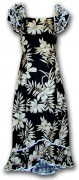 Pacific Legend Long Muumuu Dress - 334-3557 Black