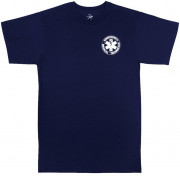 Rothco 2-Sided E.M.T. T-Shirt Navy Blue 6337