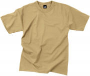 Rothco T-Shirt Poly/Cotton Khaki 6763