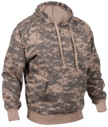 Rothco Pullover Hooded Sweatshirt ACU Digital Camo - 6595