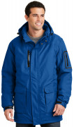 Port Authority Heavyweight Parka Royal Blue