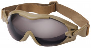 Rothco SWATTec Sport Goggles Coyote w/ Smoke Lens