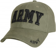Rothco Deluxe Army Embroidered Low Profile Insignia Cap 9508