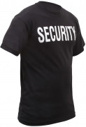 Rothco Security  2-Sided T-Shirt Black 6616