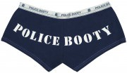 "Rothco Women's Booty Shorts Blue w/ ""Police Booty"" - 3877"
