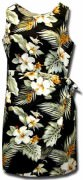 Pacific Legend Hawaiian Sarong Dress - 313-2820 Black