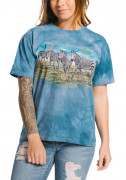 The Mountain T-Shirt Zebra Gathering 105913