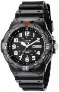 Casio Men's Resin Dive Watch Black MRW200H-1BV