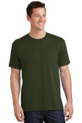 Port & Company Core Cotton Tee PC54 Olive