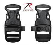 Пряжка фастекс ITW™ 3/4'' Side Release Buckle - Black