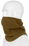 Rothco Polar Fleece Contoured Elastic Neck Gaiter Coyote 5579