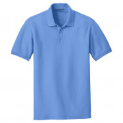 Port Authority Core Classic Pique Polo Carolina Blue